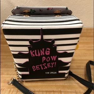 Betsey Johnson takeout box purse